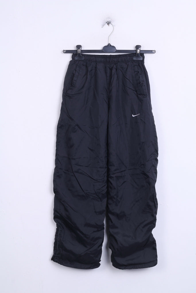 Nike Boys L (152-158) Trousers Black Sport Training Tracksuit Bottom - RetrospectClothes