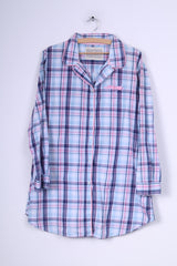 Love Sleep Dream Womens XL Pyjamas Check Purple Nightwear
