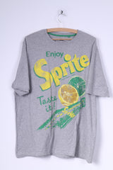George Coca-Cola Womens 20 XL T-Shirt Grey Sprite Graphic