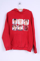 Tammy 1D Womens L Sweatshirt Cotton Red One Direction graphic Hoodie