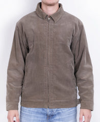 Ripley Mens M Conduroy Jacket Brown Full Zipper Cotton - RetrospectClothes