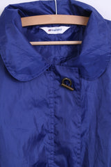 DAMART Womens S Light Jacket Parka Navy Sport Hood - RetrospectClothes