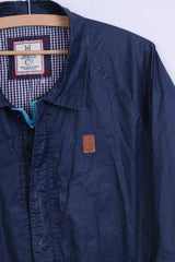 Henri Lloyd Jeans Co Mens L Jacket Wax Cotton Navy