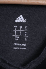 Adidas Mens S T- Shirt Grey Cotton Crew Neck Destroy Yourself Sport Top