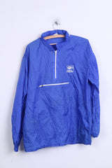 Nabisco Grand Prix Womens 2XL Jacket Anorak Hood Italy Kangroo Packet - RetrospectClothes