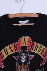 Cedar Wood State Womens M T-Shirt Black Cotton Guns N' Roses Graphic band
