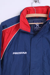 Prostar Boys L Jacket Parka Nylon Waterproof Navy Hood - RetrospectClothes