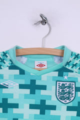Umbro England National Football Team Boys LB 152cm Shirt Long Sleeve Green Hart #1