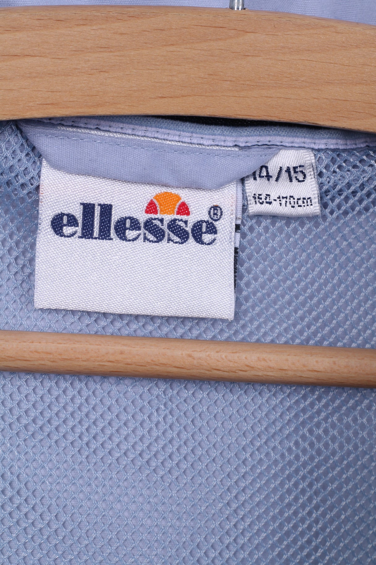 da1aa93b6554 Ellesse Italia Boys 14 -15 Age Jacket Blue Sportswear Cotton Blend ...