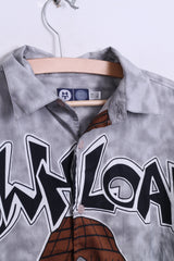Here&There C&A Boys 158/164 Casual Shirt Short Sleeve Hip-Hop Style - RetrospectClothes