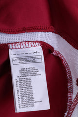 Adidas Nürnberg Boys 13-14Y Polo Shirt Maroon Football Club - RetrospectClothes