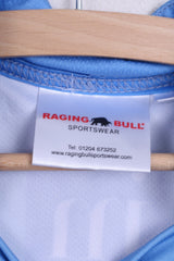 Raging Bull S.E.A.E. Mens 42'' Shirt Rugby Football Club Blue - RetrospectClothes