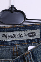 Diesel Industry Womens 26 Trousers Blue Cotton Denim Jeans - RetrospectClothes