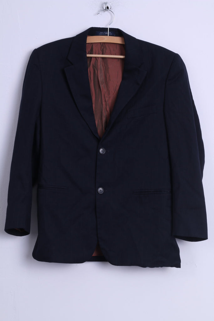 Douglas & Graham 1880 Club Boys 164cm Chest 33 Blazer  Navy Striped Single Breasted