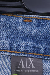 Armani Exchange Mens W30 L30 Jeans Trousers Denim Light Blue