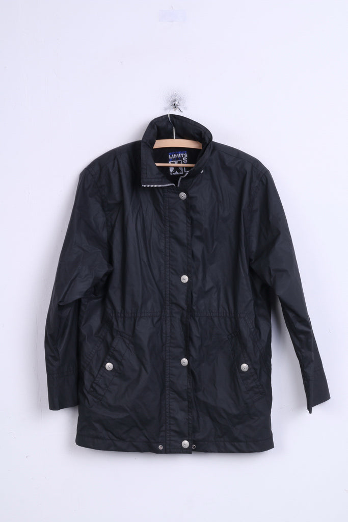 Without Limits Mens 36 S Jacket Black Stand-up Collar