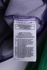 Adidas Womens 42 M Sweatshirt Full Zipper Bomber Bomber Purple