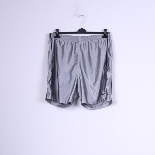 Nike Mens XL 45/47 Shorts Grey Shiny Sportswear