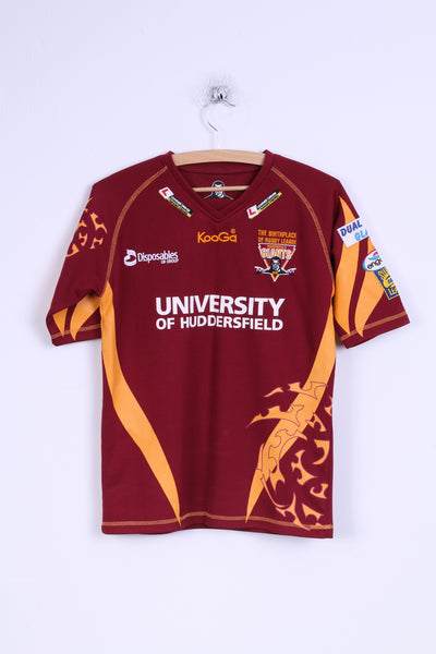 Kooga Boys LGB Rugby Shirt Huddersfield Giants League Jersey