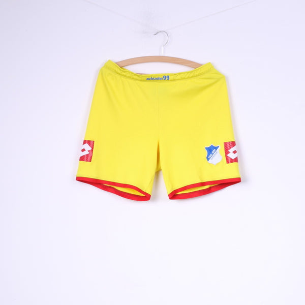 Lotto TSG 1899 Hoffenheim Boys S Shorts Yellow Italian Sport Design