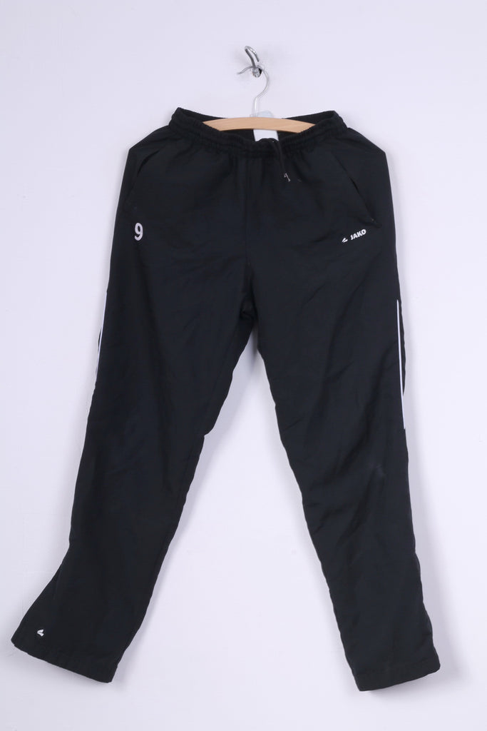 Jako Boys 14 Age Sweatpants Black Sportswear Track Bottoms #9 Sport