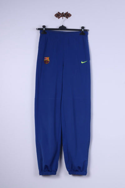 Nike Boys XL 13-15 Age 158-170 Trousers Blue FC Barcelona Bottoms Sportswear Pants