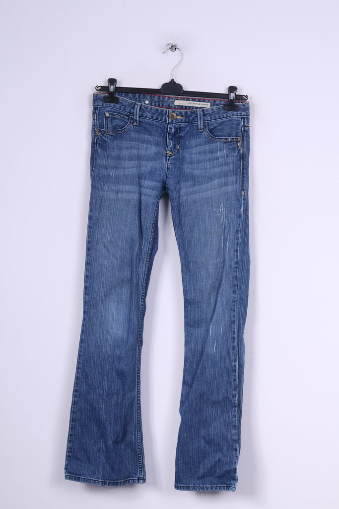 DKNY Jeans Womens 28 Trousers Denim Pants Jeans Cotton Blue
