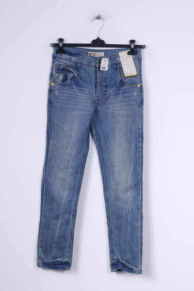 New Next Girls 12Yrs 152 Trousers Denim Jeans Skinny Cotton