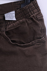 John Baner Womens 20 46 Trousers Brown Cotton Jeans Casual Pants