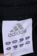 Adidas Boys 140 24'' Trousers Sweatpants Black Sport