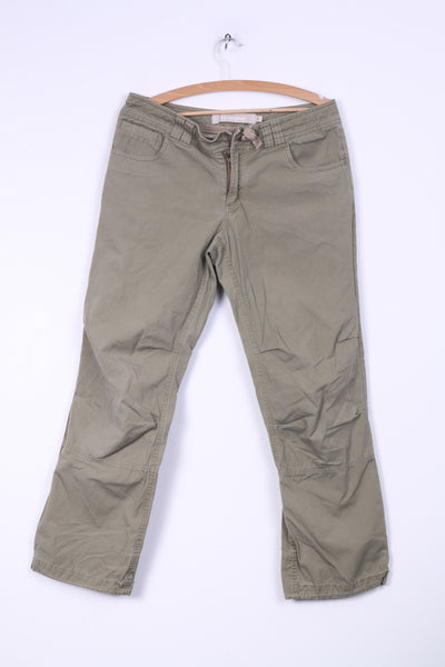 Berghaus Womens 12 L Trousers Khaki Combat Outdoor Hikking Pants