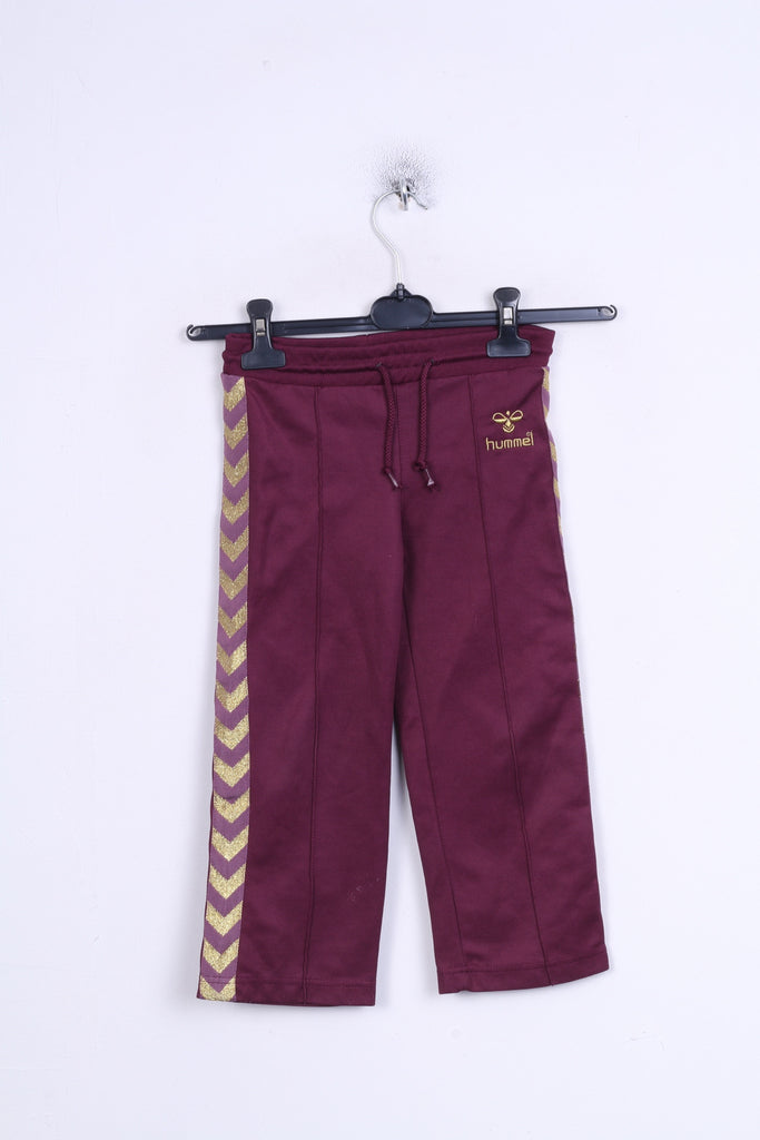 Hummel Grils 110 Trousers Sweatpants Purple Sport