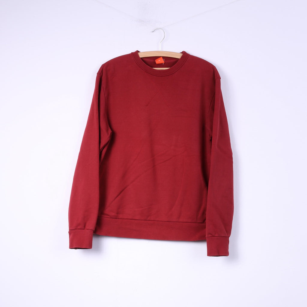 c5ff2cc20 Hugo Boss Mens M Sweatshirt Red Jumper Cotton Top Crew Neck –  RetrospectClothes
