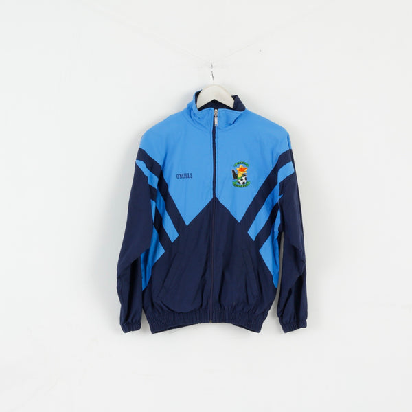 O'Neills Boys 13 / 14 Age Track Top Jacket Blue Football Growth Of North Nylon Top