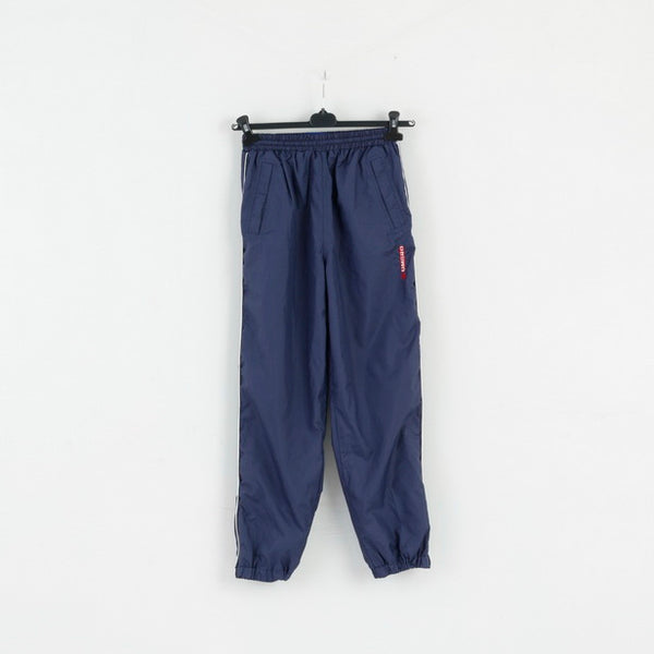 Umbro Boys 160 12-14 Age Sweatpants Navy Sport Active Bottoms Track Pants