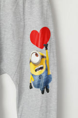 Fishbone Sister Women S Sweatpants Grey Despicable Me Minions Jogger Baggy I Love Minions