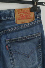 Levi Strauss&Co Women W 28 L 34 Trousers Denim Jeans Cotton Bootcut