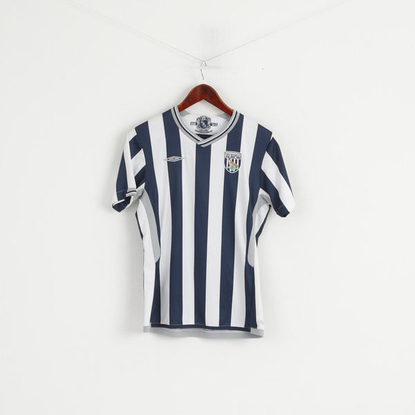 Umbro WBA Youth 10-12 Age Shirt West Bromwich Albion 2009/2010 Football #7 Jersey