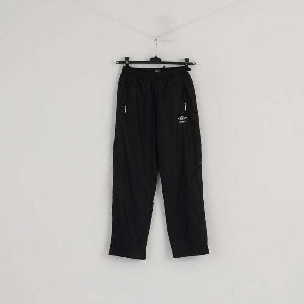 Umbro Boys 152 Sweatpants Black Shiny Sport Training Sportswear Trousers