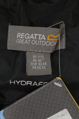 New Regatta Mens XXXL 62-64 Trousers Black Hydrafort Plus Size Outdoor Pants