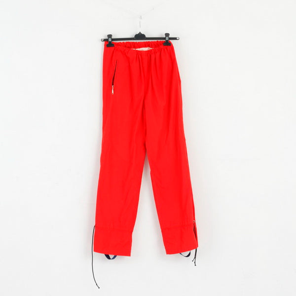Trio Sport By Lillehammer Womens 40 Trousers Red Vintage Diolen Outdoor Pants