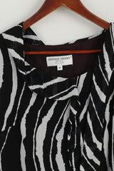 Donna Ricco New York Women 8P S Dress Black & White Petite Mini Cocktail