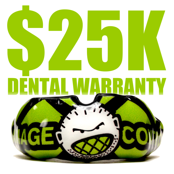 Damage Control Now Offers a $25,000 Warranty on Custom Mouthguards