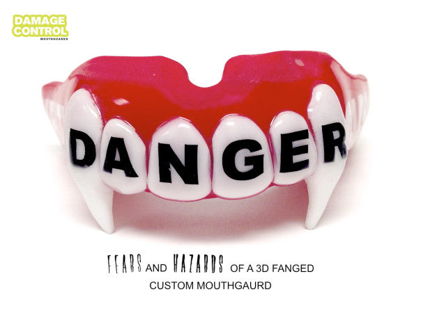 3D Fang Mouth Guard FAQs