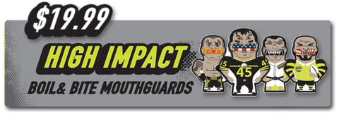High Impact BMX mouthguard by Damage Control