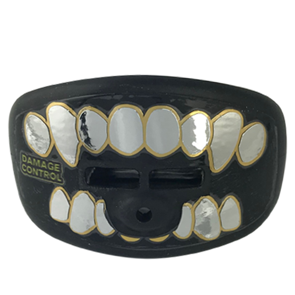 Platinum Grillz Black Pacifier Mouthpeice - Damage Control Mouthguards