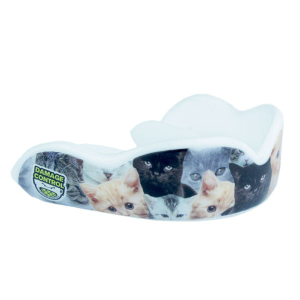 Mouth guard with cats