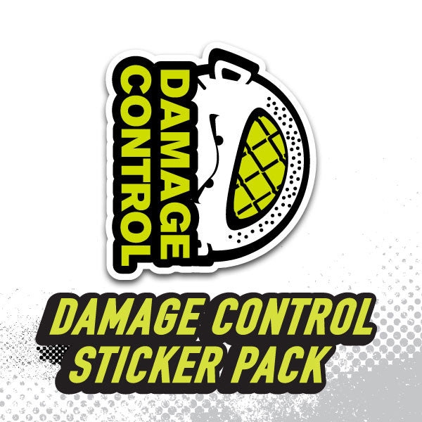 DC Sticker Pack - Damage Control Mouthguards