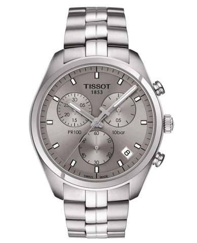 Tissot Men's PR100 Chronograph T101.417.11.071.00 (Choose free two-day shipping at checkout)