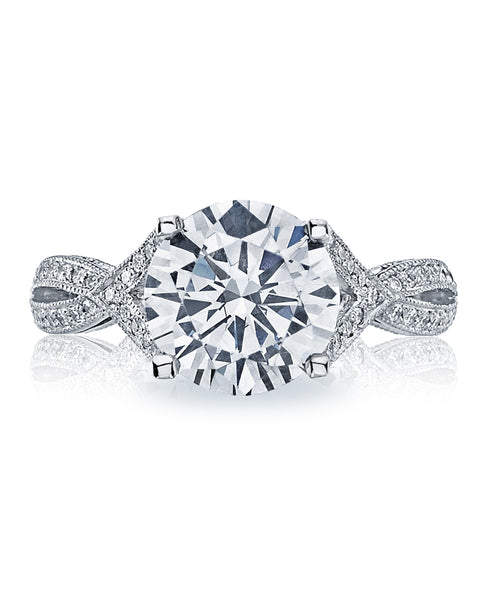 Tacori Simply Tacori 2565RD9 Engagement Ring (Choose free two-day shipping at checkout)